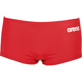 arena Solid Squared Shorts Men red-white